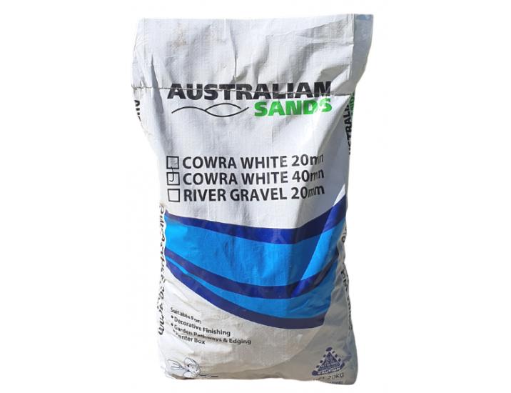 Cowra White 40mm 20mm
