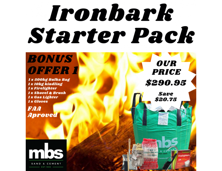 Iron Bark Packs 2