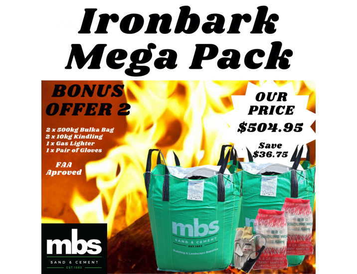 Iron Bark Packs 3