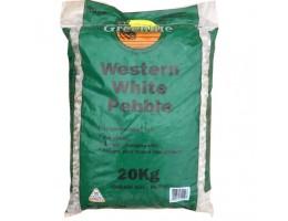 Western White Pebble 20kg
