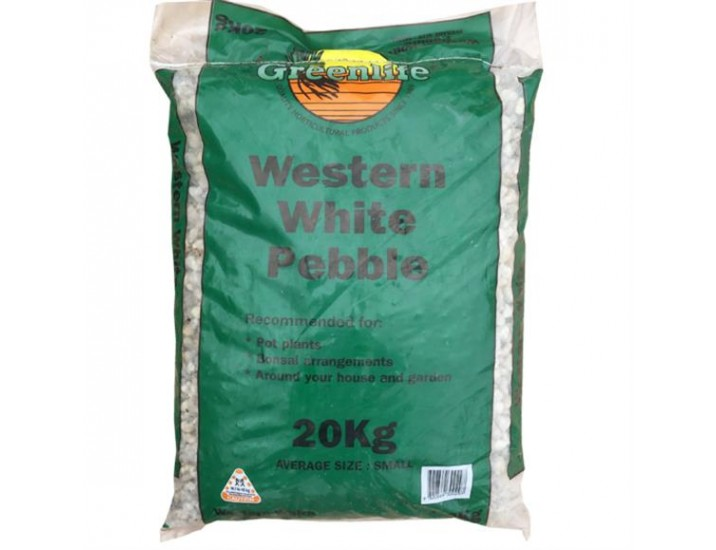 Western White Pebble 20kg